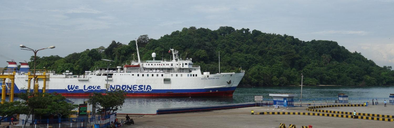 """unsere Royal Nusantara - ein stolzes Schiff ->""""Indonesia cintaku"""""""