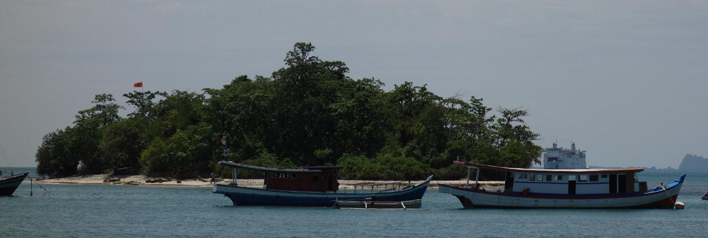 kleine Merak Insel