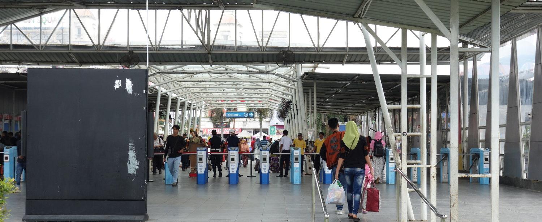 Bogor KRL Bahnhof