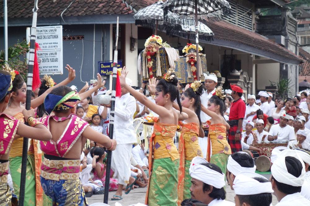 Tempelfest in Padang Bai