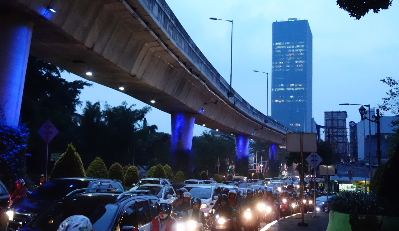 Traffic-Jam Jakarta