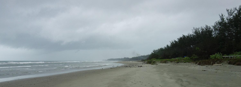 der lange Strand, Bengkulu
