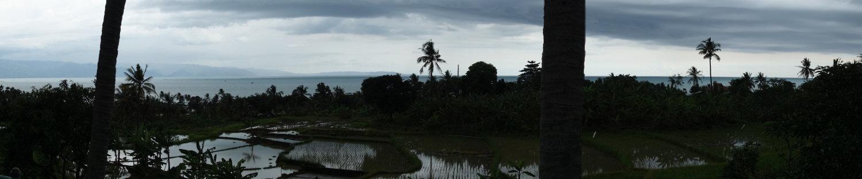 Blick auf Samudra Beach
