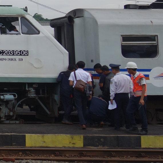 Eisenbahn Indonesien
