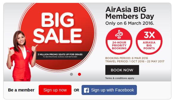Big Sale Air Asia